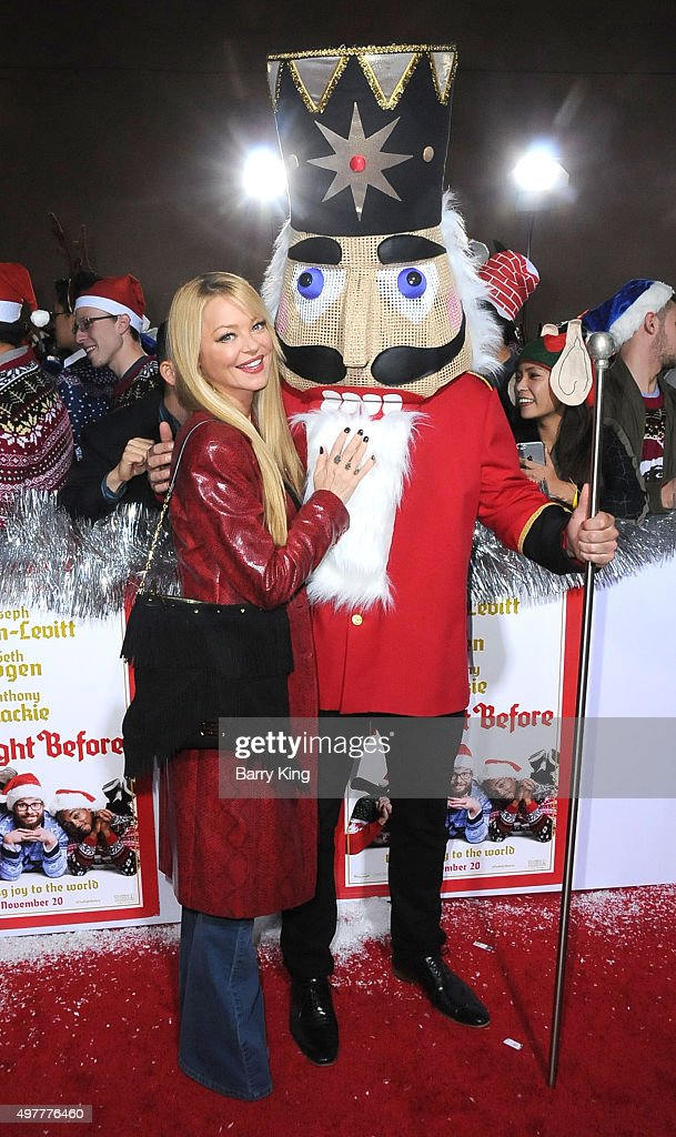 Actress <a gi-track='captionPersonalityLinkClicked' href=/galleries/search?phrase=Charlotte+Ross+-+Actress&family=editorial&specificpeople=217600 ng-click='$event.stopPropagation()'>Charlotte Ross</a> attends the premiere of Columbia Pictures' 'The Night Before' at The Theatre at the Ace Hotel on November 18, 2015 in Los Angeles, California.
