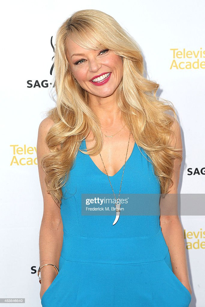 Actress <a gi-track='captionPersonalityLinkClicked' href=/galleries/search?phrase=Charlotte+Ross&family=editorial&specificpeople=217600 ng-click='$event.stopPropagation()'>Charlotte Ross</a> attends the Television Academy and SAG-AFTRA Presents Dynamic & Diverse: A 66th Emmy Awards Celebration of Diversity at the Leonard H. Goldenson Theatre on August 12, 2014 in North Hollywood, California.