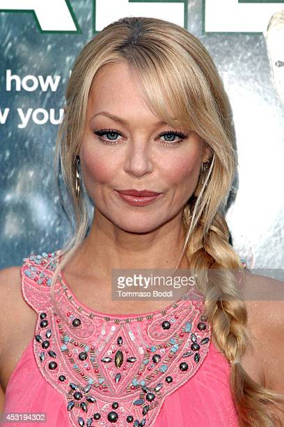 Actress Charlotte Ross attends the 'When The Game Stands Tall' Los Angeles premiere held at the ArcLight Hollywood on August 4 2014 in Hollywood...