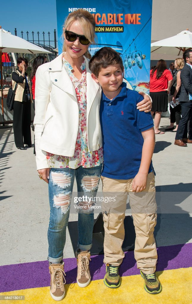 Actress Charlotte Ross attends Universal Studios Hollywood Celebrates The Premiere Of New 3D Ultra HD digital Animation Adventure 'Despicable Me Minion Mayhem' at Universal Studios Hollywood on April 11, 2014 in Universal City, California.