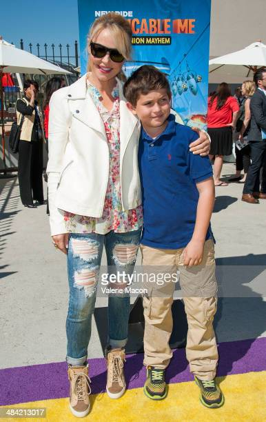 Actress Charlotte Ross attends Universal Studios Hollywood Celebrates The Premiere Of New 3D Ultra HD digital Animation Adventure 'Despicable Me...