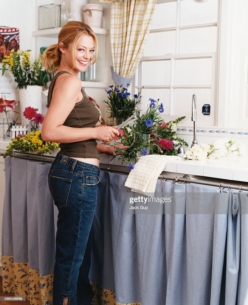 Actress Charlotte Ross is photographed for InStyle Magazine in 2002 in Los Angeles, California. PUBLISHED