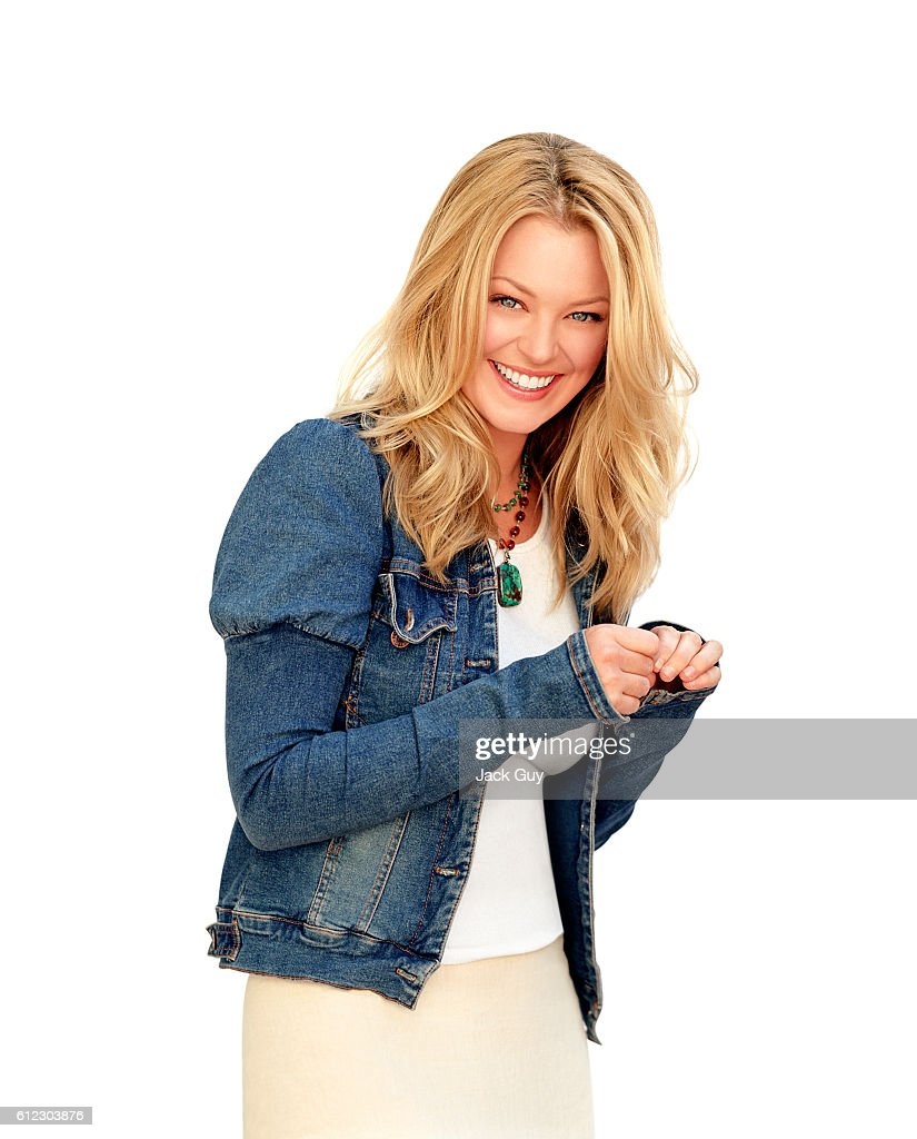 Actress Charlotte Ross is photographed on November 1, 2002 in Los Angeles, California.
