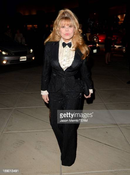 Actress Charo arrives at the 24th annual Palm Springs International Film Festival Awards Gala at the Palm Springs Convention Center on January 5 2013...