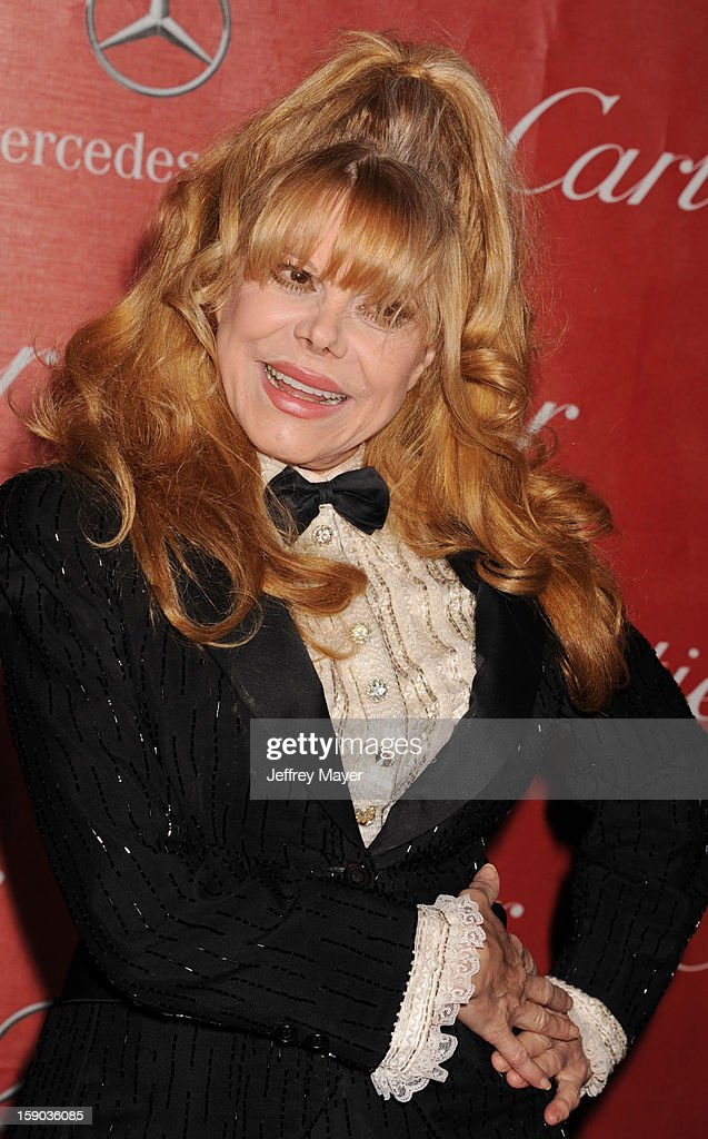 Actress Charo arrives at the 24th Annual Palm Springs International Film Festival - Awards Gala at Palm Springs Convention Center on January 5, 2013 in Palm Springs, California.