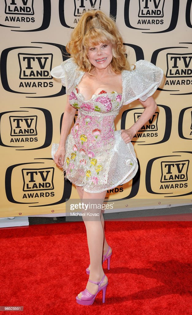 Actress Charo attends the 8th Annual TV Land Awards held at Sony Studios on April 17 2010 in Culver City California
