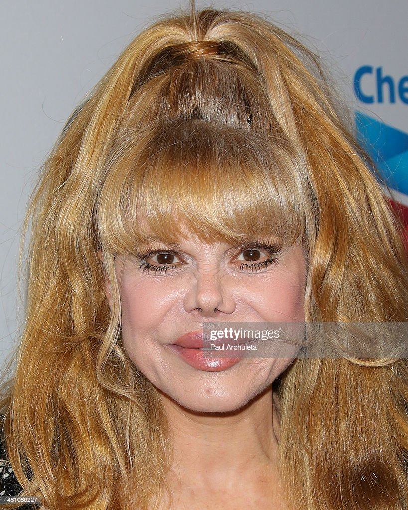 Actress <a gi-track='captionPersonalityLinkClicked' href=/galleries/search?phrase=Charo&family=editorial&specificpeople=242999 ng-click='$event.stopPropagation()'>Charo</a> attends the Cesar Chavez Foundation's 2014 Legacy Awards dinner at Millennium Biltmore Hotel on March 28, 2014 in Los Angeles, California.