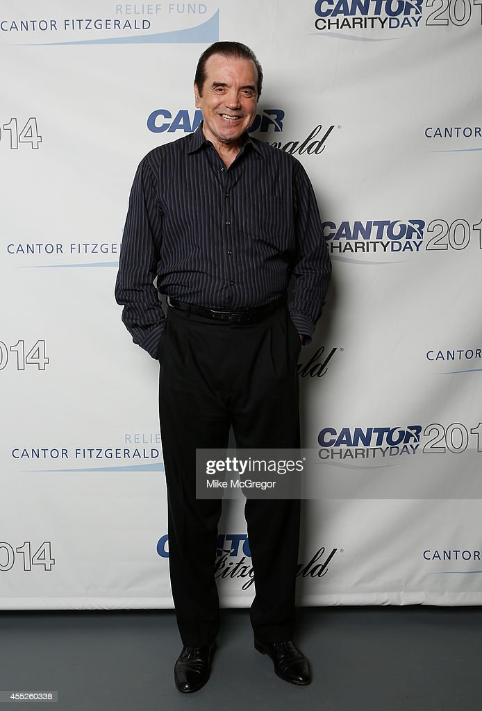 Actress Chazz Palminteri attends Annual Charity Day Hosted By Cantor Fitzgerald And BGC at Cantor Fitzgerald on September 11 2014 in New York City