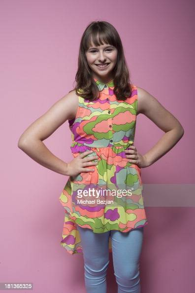 Actress Chelsea Cook poses for a portrait at the Mark Kearney Group 'Iced Out' Luxury Emmy Suite on September 20 2013 in Los Angeles California