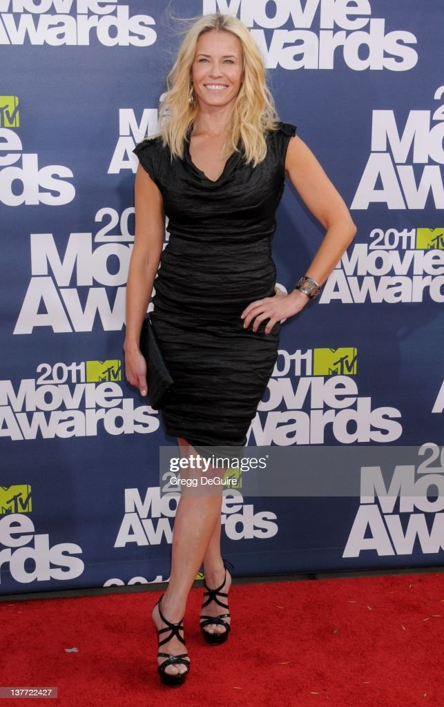 Actress <a gi-track='captionPersonalityLinkClicked' href=/galleries/search?phrase=Chelsea+Handler&family=editorial&specificpeople=599162 ng-click='$event.stopPropagation()'>Chelsea Handler</a> arrives at the 2011 MTV Movie Awards at the Gibson Amphitheatre on June 5, 2011 in Universal City, California.