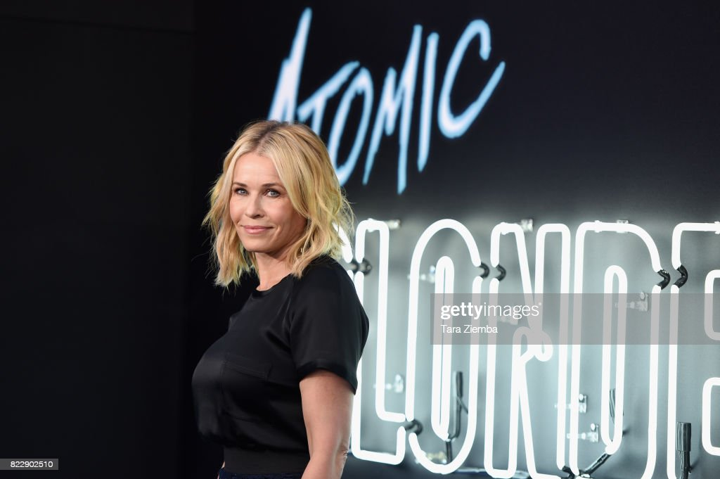 Actress Chelsea Handler attends the premiere Of Focus Features' 'Atomic Blonde' at The Theatre at Ace Hotel on July 24, 2017 in Los Angeles, California.