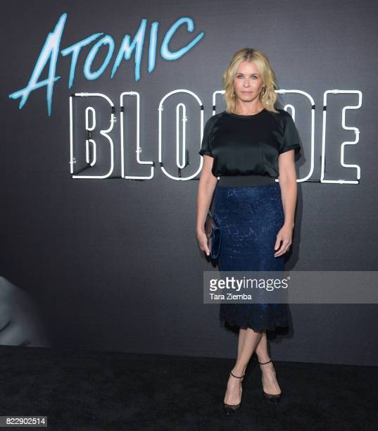 Actress Chelsea Handler attends the premiere Of Focus Features' 'Atomic Blonde' at The Theatre at Ace Hotel on July 24 2017 in Los Angeles California