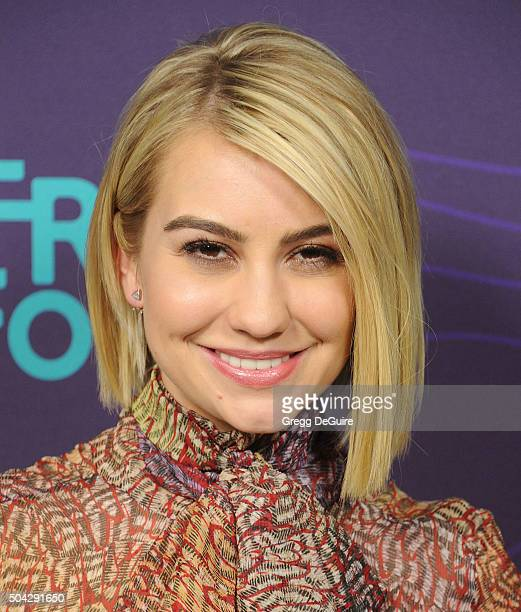 Actress Chelsea Kane arrives at the 2016 Winter TCA Tour Disney/ABC at Langham Hotel on January 9 2016 in Pasadena California