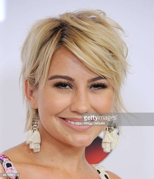 Actress Chelsea Kane arrives at the Disney ABC Television Group's 2015 TCA Summer Press Tour on August 4 2015 in Beverly Hills California