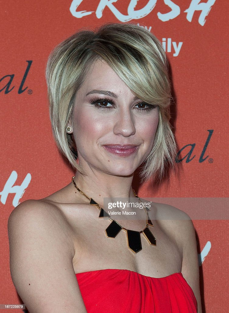Actress Chelsea Kane arrives at the Launch Celebration Of Crush By ABC Family at The London Hotel on November 6, 2013 in West Hollywood, California.