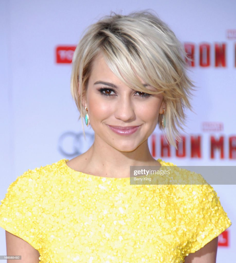 Actress <a gi-track='captionPersonalityLinkClicked' href=/galleries/search?phrase=Chelsea+Kane&family=editorial&specificpeople=4436708 ng-click='$event.stopPropagation()'>Chelsea Kane</a> arrives at the Los Angeles Premiere 'Iron Man 3' at the El Capitan Theatre on April 24, 2013 in Hollywood, California.