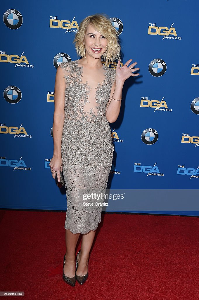 Actress Chelsea Kane attends the 68th Annual Directors Guild Of America Awards at the Hyatt Regency Century Plaza on February 6, 2016 in Los Angeles, California.