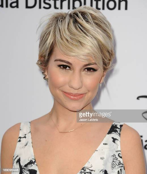 Actress Chelsea Kane attends the Disney Media Networks International Upfronts at Walt Disney Studios on May 19 2013 in Burbank California