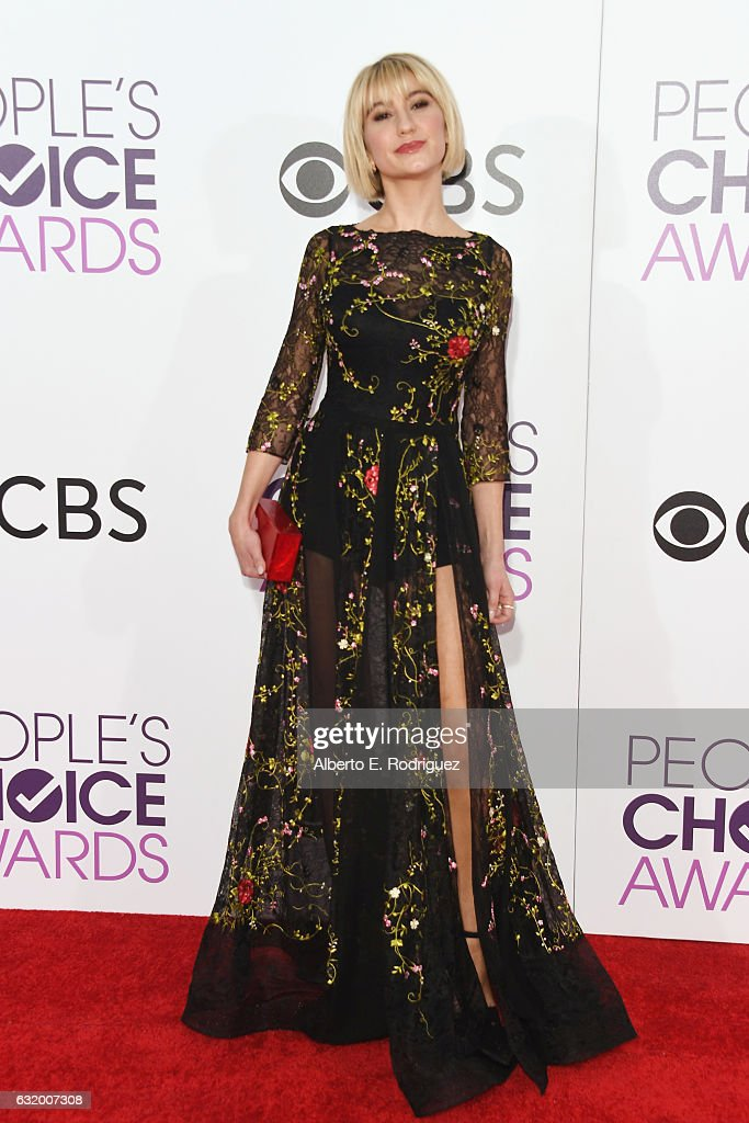 Actress Chelsea Kane attends the People's Choice Awards 2017 at Microsoft Theater on January 18, 2017 in Los Angeles, California.
