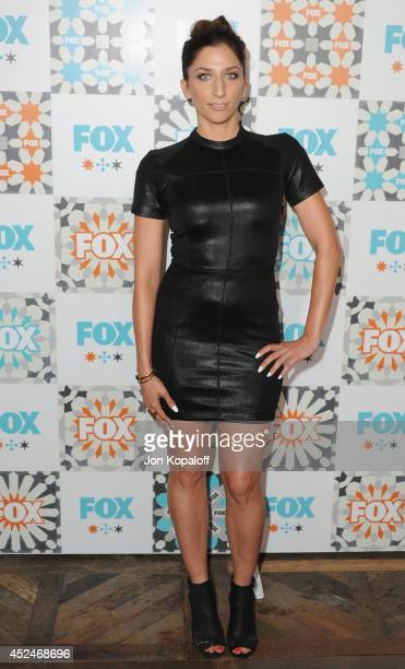 Actress Chelsea Peretti arrives at the FOX AllStar Party 2014 Television Critics Association Summer Press Tour at Soho House on July 20 2014 in West...