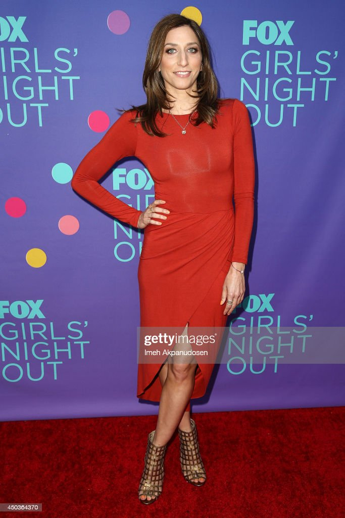 Actress <a gi-track='captionPersonalityLinkClicked' href=/galleries/search?phrase=Chelsea+Peretti&family=editorial&specificpeople=7037211 ng-click='$event.stopPropagation()'>Chelsea Peretti</a> attends Fox's 'Girls Night Out' at Leonard H. Goldenson Theatre on June 9, 2014 in North Hollywood, California.