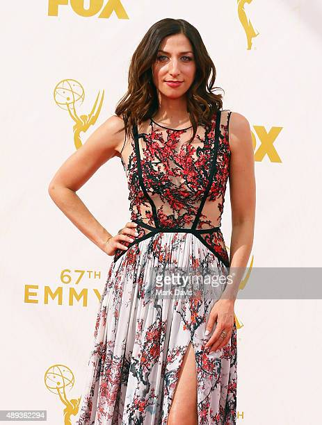 Actress Chelsea Peretti attends the 67th Annual Primetime Emmy Awards at Microsoft Theater on September 20 2015 in Los Angeles California