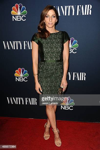 Actress Chelsea Peretti attends the NBC Vanity Fair 2014 2015 TV season event at HYDE Sunset Kitchen Cocktails on September 16 2014 in West Hollywood...