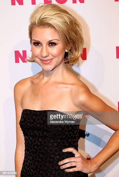 Actress Chelsea Staub arrives at NYLON'S May Young Hollywood Event at Roosevelt Hotel on May 12 2010 in Hollywood California