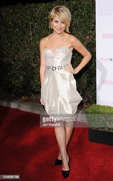 Actress Chelsea Staub arrives at Teen Vogue's 8th Annual Young Hollywood Party at Paramount Studios on October 1 2010 in Hollywood California