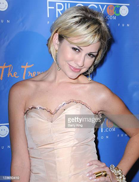 Actress Chelsea Staub arrives at the Frilogycom Launch Party benefiting The Trevor Project at My Studio on December 3 2010 in Hollywood California