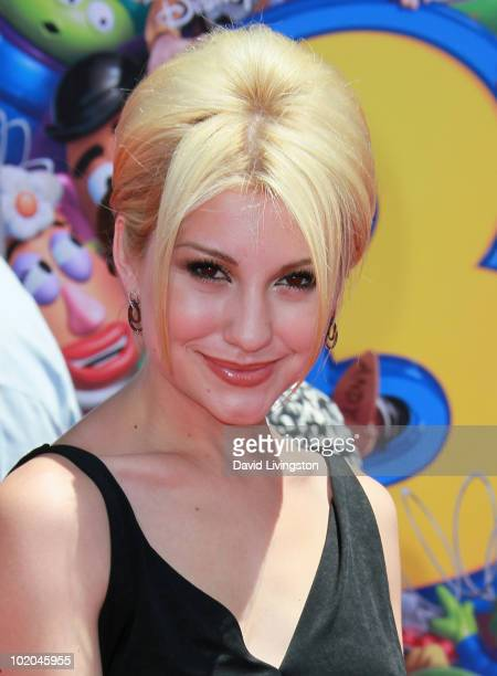 Actress Chelsea Staub attends the Los Angeles premiere of 'Toy Story 3' at the El Capitan Theatre on June 13 2010 in Hollywood California
