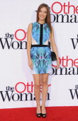 Actress Chelsea Turnbo arrives at the Los Angeles Premiere 'The Other Woman' at Regency Village Theatre on April 21 2014 in Westwood California