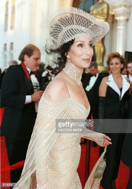 Actress Cher arrives for the 70th Annual Academy Awards 23 March in Los Angeles CA AFP PHOTO/HECTOR MATA
