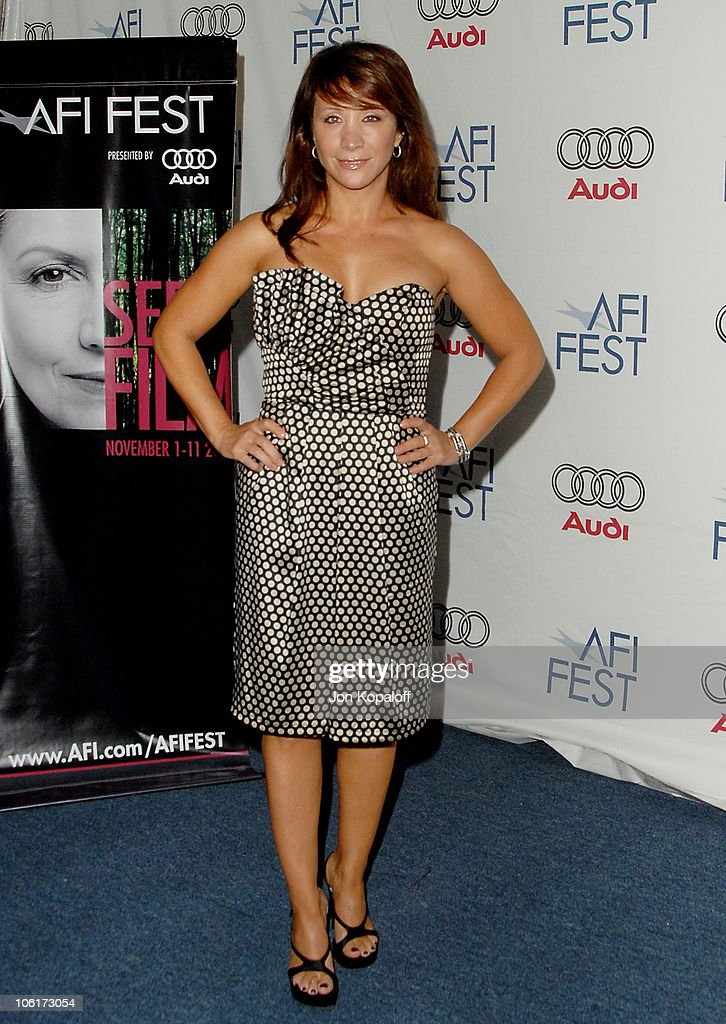 Actress Cheri Oteri arrives at the Los Angeles premiere of 'Southland Tales' presented by AFI FEST 2007 at the ArcLight Theater on November 2 2007 in...