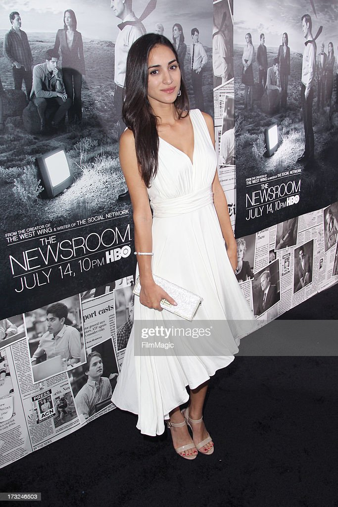 Actress Cherie Daly attends HBO's 'The Newsroom' season 2 premiere at Paramount Studios on July 10, 2013 in Hollywood, California.