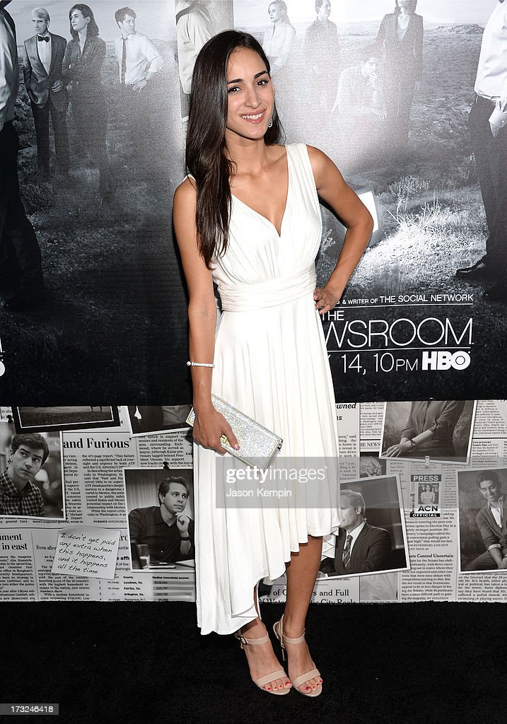 Actress Cherie Daly attends the premiere of HBO's 'The Newsroom' Season 2 at Paramount Theater on the Paramount Studios lot on July 10, 2013 in Hollywood, California.
