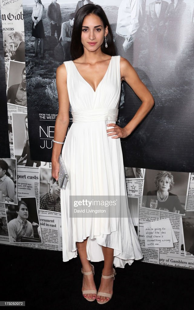 Actress Cherie Daly attends the premiere of HBO's 'The Newsroom' Season 2 at the Paramount Theater on the Paramount Studios lot on July 10, 2013 in Hollywood, California.