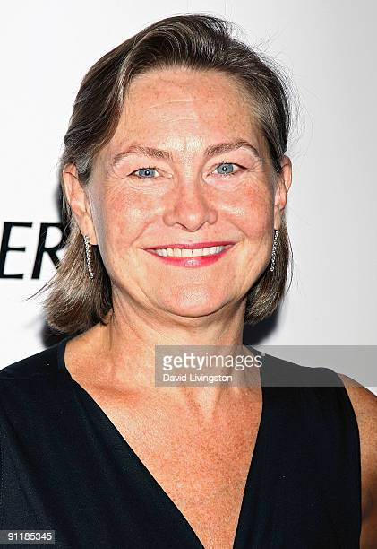 Actress Cherry Jones attends Point Foundation's 'Point Honors Los Angeles' at the Renaissance Hollywood Hotel on September 26 2009 in Los Angeles...