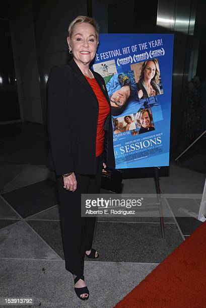 Actress Cheryl Cohen Greene arrives to the Los Angeles premiere of Fox Searchlight Pictures' 'The Sesions' held at the Bing Theatre at LACMA on...