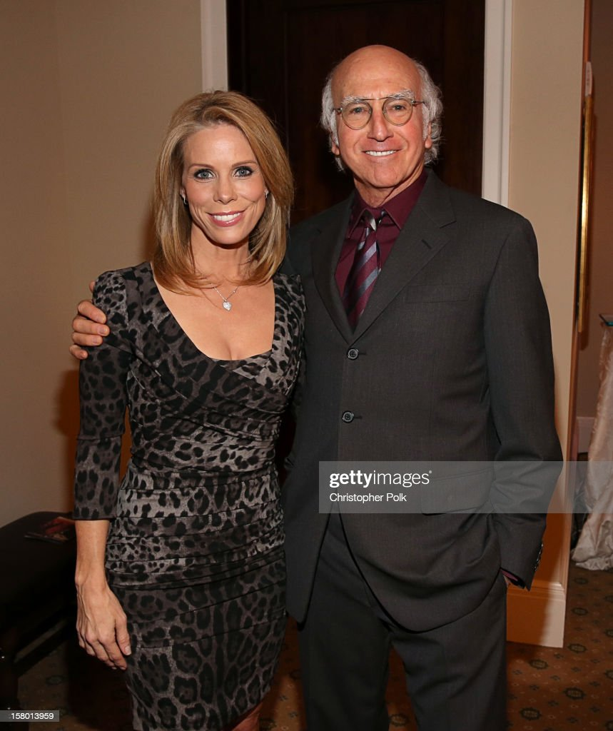 Actress <a gi-track='captionPersonalityLinkClicked' href=/galleries/search?phrase=Cheryl+Hines&family=editorial&specificpeople=209249 ng-click='$event.stopPropagation()'>Cheryl Hines</a> and Actor/Writer/Producer <a gi-track='captionPersonalityLinkClicked' href=/galleries/search?phrase=Larry+David&family=editorial&specificpeople=125184 ng-click='$event.stopPropagation()'>Larry David</a> attend the Deer Valley Celebrity Skifest at the Montage Deer Valley on December 8, 2012 in Park City, Utah.