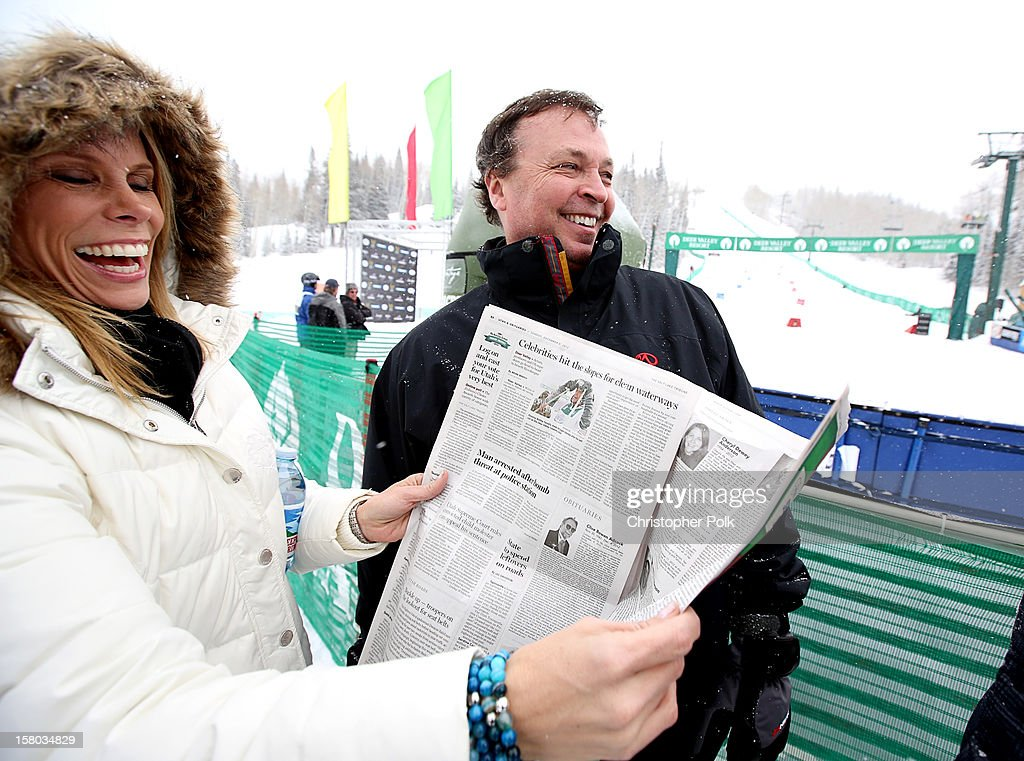 Actress Cheryl Hines and Director/Screenwriter/Producer Bobby Farrelly attend the Deer Valley Celebrity Skifest at Deer Valley Resort on December 9, 2012 in Park City, Utah.