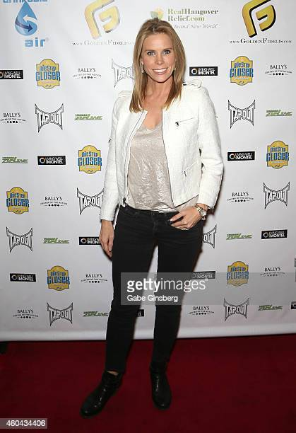 Actress Cheryl Hines arrives at One Step Closer Foundation's seventh annual AllIn For Cerebral Palsy Celebrity Poker Tournament at Bally's Las Vegas...