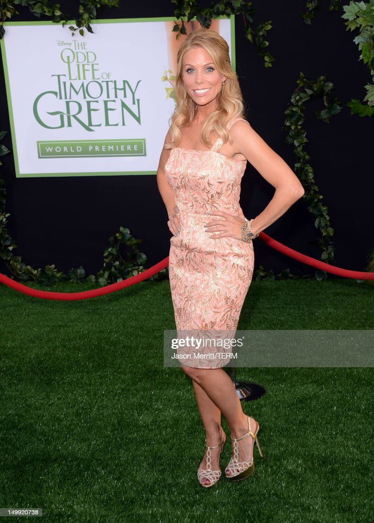 Actress Cheryl Hines arrives at the premiere of Walt Disney Pictures' 'The Odd Life of Timothy Green' at the El Capitan Theatre on August 6, 2012 in Hollywood, California.