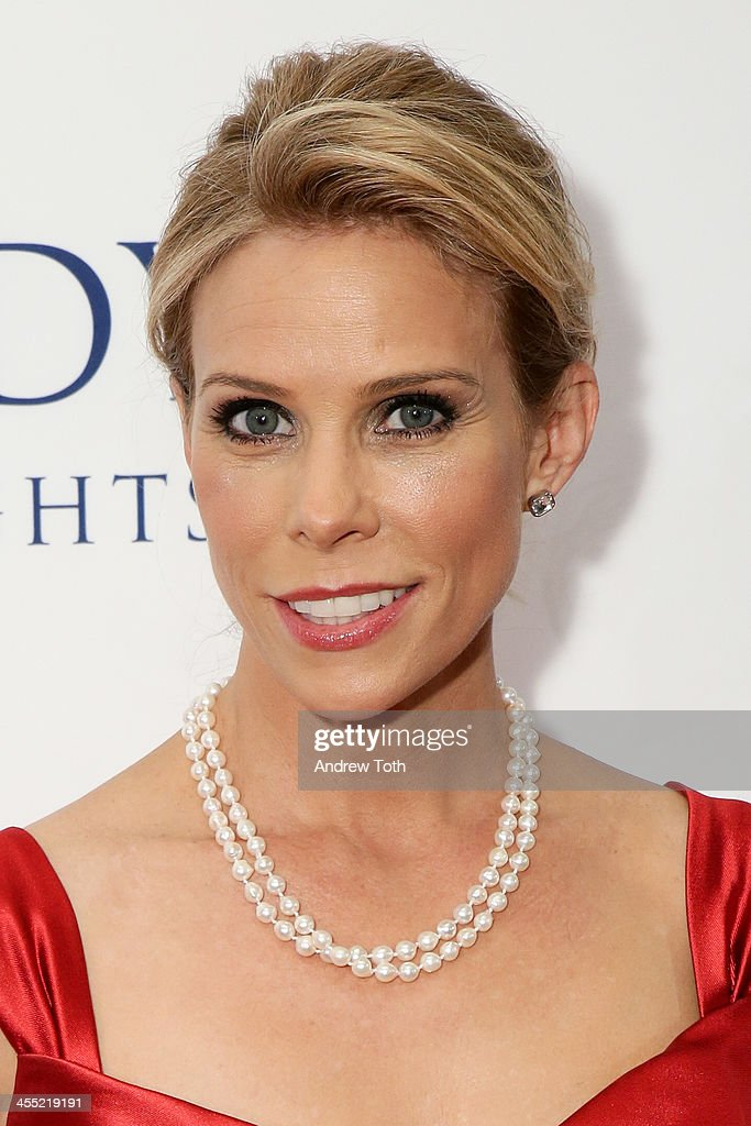 Actress Cheryl Hines attends 2013 Ripple of Hope Awards Dinner at New York Hilton on December 11, 2013 in New York City.
