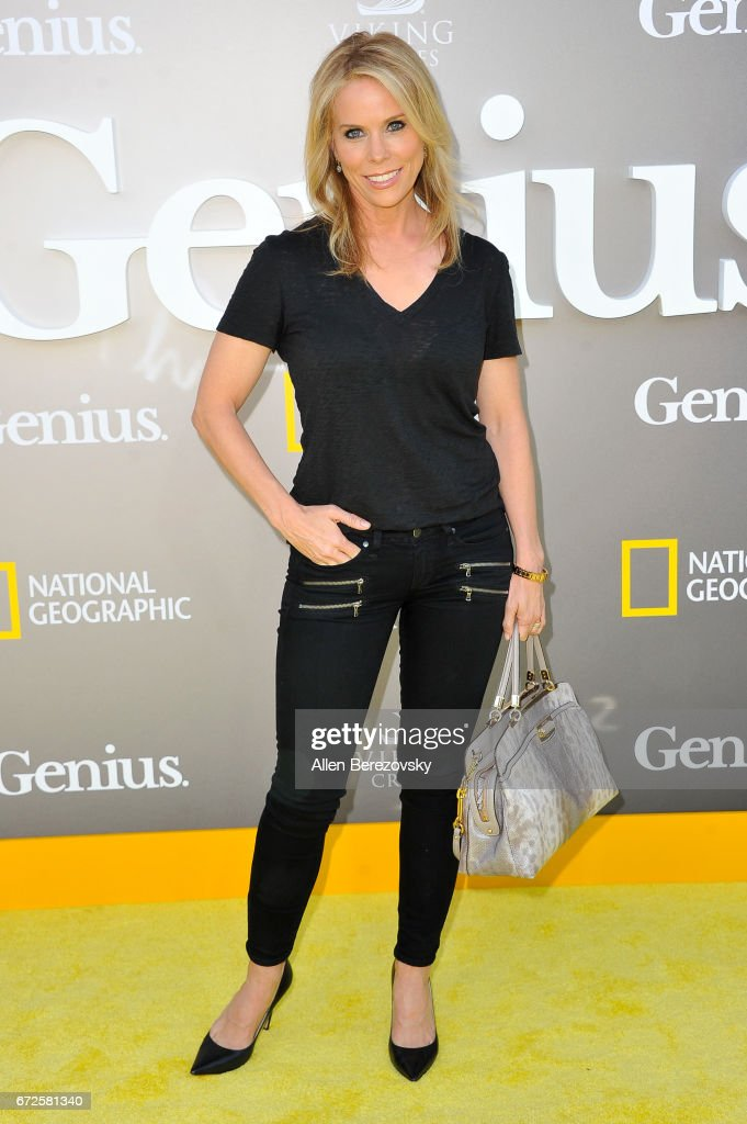 Actress Cheryl Hines attends a premiere of National Geographic's 'Genius' at Fox Bruin Theater on April 24, 2017 in Los Angeles, California.