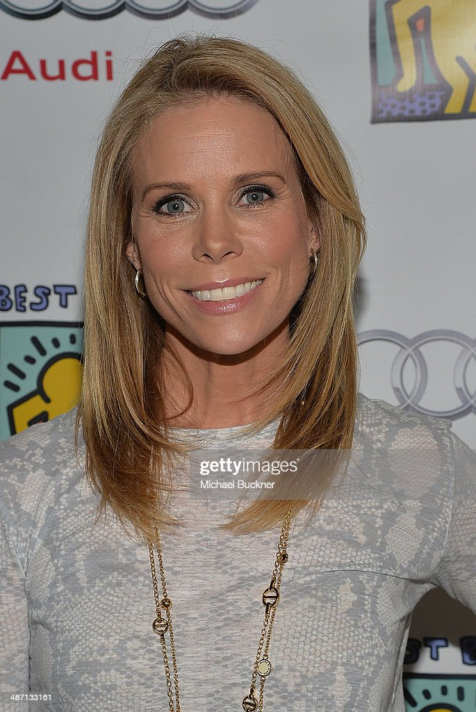 Actress <a gi-track='captionPersonalityLinkClicked' href=/galleries/search?phrase=Cheryl+Hines&family=editorial&specificpeople=209249 ng-click='$event.stopPropagation()'>Cheryl Hines</a> attends Audi Best Buddies' Bowling For Buddies at Lucky Strike Lanes at L.A. Live on April 27, 2014 in Los Angeles, California.