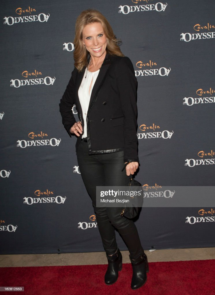 Actress Cheryl Hines attends Celebrity Red Carpet Opening For Cavalia's 'Odysseo' at Cavalia's Odysseo Village on February 27, 2013 in Burbank, California.