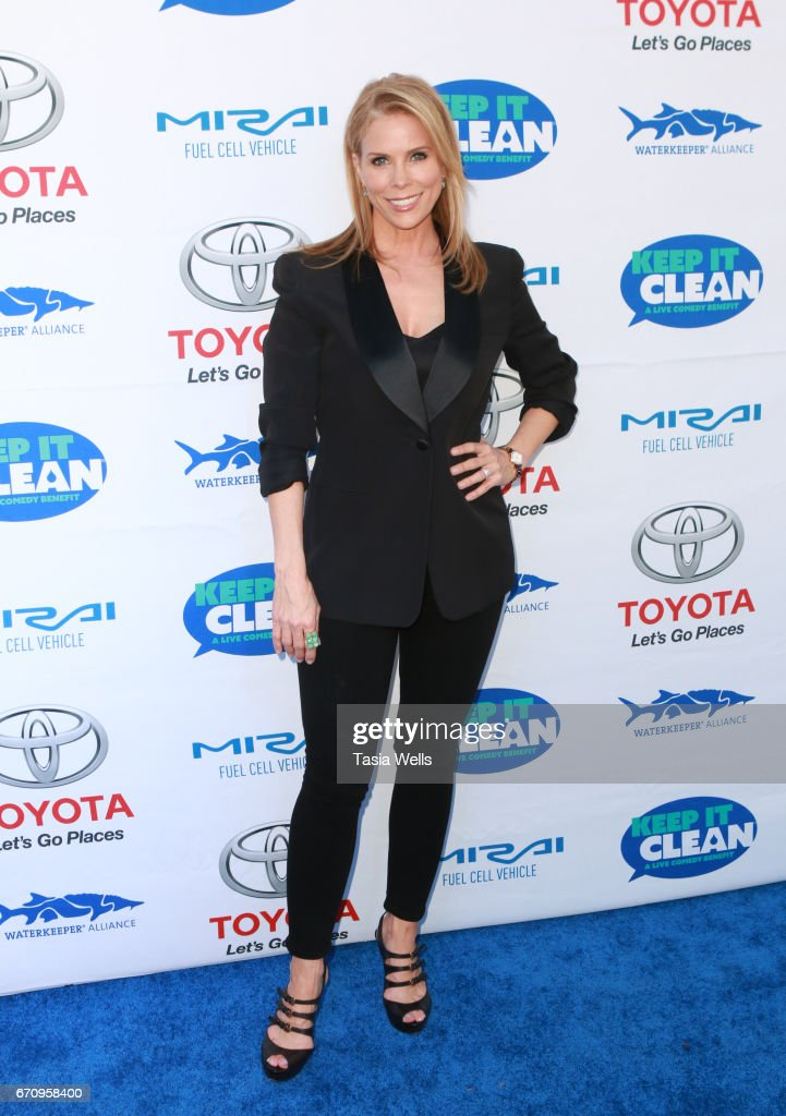 Actress Cheryl Hines attends Keep it Clean Live Comedy Benefit for Waterkeeper Alliance at Avalon Hollywood on April 20, 2017 in Los Angeles, California.