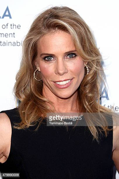 Actress Cheryl Hines attends the an Evening of Environmental Excellence presented by the UCLA Institute of The Environment and Sustainability on...