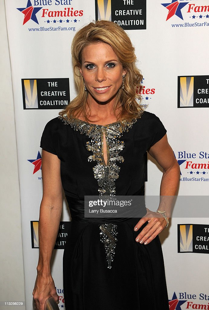 Actress Cheryl Hines attends the Creative Coalition and Blue Star Families PSA premiere gala at American Red Cross on April 28, 2011 in Washington, DC.